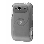 HTC Wildfire S Wave Case - HTC Soft Cover (Frosted Clear)