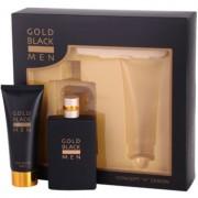 Concept V Gold Black lote de regalo I. eau de toilette 100 ml + bálsamo after shave 100 ml