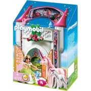 A small tower of Playmobil Princess Unicorn 4777 [parallel import]