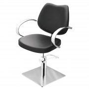Sibel - Echo Square Kappersstoel - Zwart