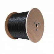 Cablu FTP cu sufa CAT5E CCA cu alimentare 2x0.75 tambur 305m