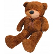 Velký plyšový medvěd 100 cm m plyšá hnědý