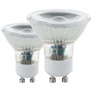 Bec LED GU10, 11511, 5W, 400lm, 3000K, set 2 buc