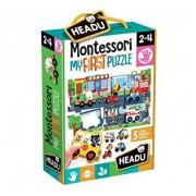 Montessori - Primul meu puzzle - Oras