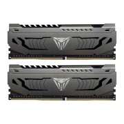 DDR4, KIT 16GB, 2x8GB, 3200MHz, Patriot Viper Steel (PVS416G320C6K)