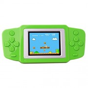 ZHISHAN Retro Handheld Game Console for Kids with Built in 268 Classic Old Games Portable Gaming Player Arcade Playstation System Birthday Gift for Children Boys (Green)
