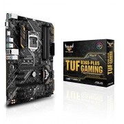Asus tuf B360-Plus Gaming mainboard Socket 1151 (ATX, Intel B360, DDR4, M.2, Intel-optane-opslagondersteuning, USB 3.1 Gen 2, Aura sync)