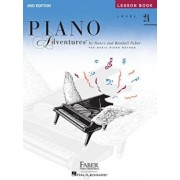 Level 2a - Lesson Book: Piano Adventures, Paperback/Nancy Faber