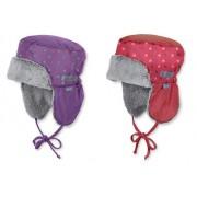 warme Wintermütze Mädchen Mütze mit Ohrenschutz - STERNTALER WINTER 4411558 -K1700