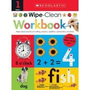 Wipe Clean Workbook: 1st Grade (Scholastic Early Learners), Paperback