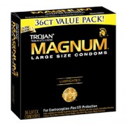 MAGNUM LUBRICATED CONDOMS 36 Pack