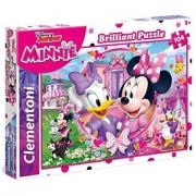 Puzzle Brilliant Minnie Mouse Clementoni 104 piese