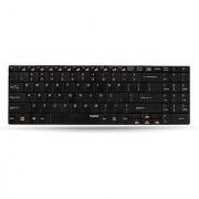 Rapoo E9070 2.4g Wireless Multimedia 5.6mm Ultra Slim Keyboard - Black