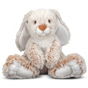 Merkloos Pluche konijn/haas knuffel 25 cm speelgoed