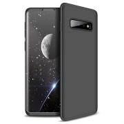 GKK Onzichtbare Samsung Galaxy S10 Cover - Zwart