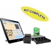 "Kit TPV Tactil Asus Led 15.6"" W10 + Software Itactil + Cajon + Impresora Ticket - Inside-Pc"