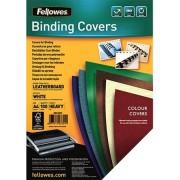 Fellowes 100 Coperture per rilegatrice A4 Bianco (100), 5370104
