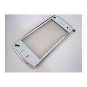 Тъч скрийн за Nokia N97 Mini с бял преден панел