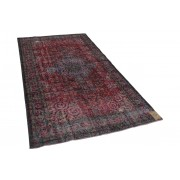 Rozenkelim vintage vloerkleed rood 288cm x 168cm