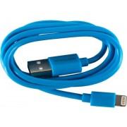 Cablu de date Serioux SRXA-MFI1MBUE, Lightning - USB, 1m (Albastru)