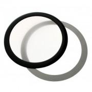 Filtru de praf DEMCiflex Dust Filter Round 120mm - Black/White
