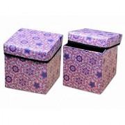 iLiv Attractive Foldable Storage Stool OV-WINE-06