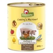 GranataPet Liebling's Mahlzeit szárnyas és olasz sonka konzerv 400 g