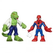 Playskool Heroes Marvel Super Hero Adventures Spider-Man and Lizard Figures