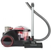 Прахосмукачка с воден филтър Arnica BORA 5000, 2400 W, турбочетка, HEPA филтър, червенa