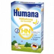 Set Lapte praf cu gust de banane de la nastere Humana 300g