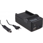 PATONA 4 in 1 Charger for Sony NP-FM500H NP-FM500