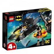 Конструктор Лего Супер Хироу - Преследване с Penguin и лодката на прилепа! - LEGO DC Comics Super Heroes, 76158