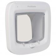 PetSafe Microchip вратичка за котки - бяла вратичка