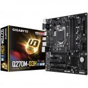 Matična ploča Gigabyte Q270M-D3H LGA1151 uATX Baza Intel® 1151 Faktor oblika Micro-ATX Set čipova matične ploče Intel® Q
