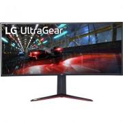 """Геймърски извит монитор LG UltraGear 38GN950-B - 38"""" UltraWide QHD IPS, 160Hz FreeSync/G-Sync, HDR"""