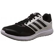 adidas Men's Duramo 77 M Black and White Mesh Running Shoes - 8 UK