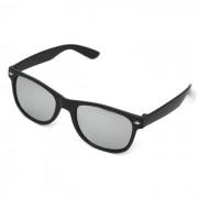 Solglasögon James Svart Silver lins