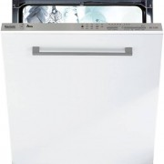 Baumatic BDI1L38S Fully Integrated Standard Dishwasher - Silver Control Panel with Fixed Door Fixing Kit - A+ Rated