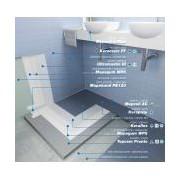 Mapei MAPEBAND PE120 rola 10m Banda elastica din PVC armat pentru etansarea elastica a rosturilor impreuna cu Mapegum WPS