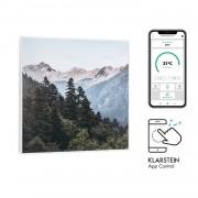 Klarstein Wonderwall Air Art Smart, инфрачервен нагревател, 60 х 60 см, 350 W, апликация, гора (HTR10-WdwllS350WMt)