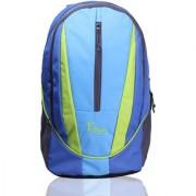 F Gear Flame V2 Rugged Base 29 Liters Blue Green Laptop Backpack