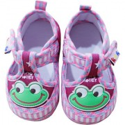 Toys Factory Baby Cute Walking Style Frog Printed Booties