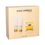 Dolce&Gabbana The One confezione regalo Eau de Parfum 75 ml + 50 ml lozione per il corpo + 50 ml doccia gel da donna