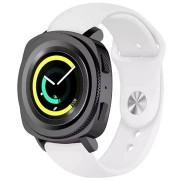 Tactical szilikon szíj Samsung Watch Gear Sport okosórához - fehér (EU Blister)