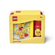 40581725 Set pentru pranz LEGO Iconic rosu-galben