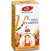 FARES Vitamina C naturala, F164, 60 comprimate
