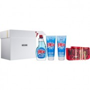 Moschino Fresh Couture lote de regalo IV. eau de toilette 100 ml + gel de ducha 100 ml + leche corporal 100 ml + set de manicura 1 ks