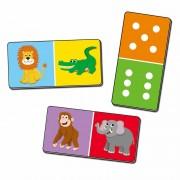 Joc Domino gigant Jungla, 2 - 4 jucatori, 3 ani+
