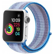 Wotchi Provlékací sportovní řemínek pro Apple Watch - Světle modrá 38/40 mm