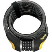 Onguard Kabelslot Glo Doberman 185 Cm X 12 Mm Zwart/geel